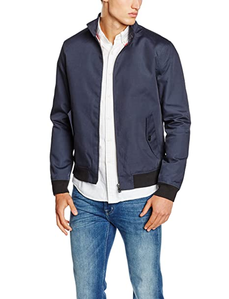 ONLY & SONS onsODGER HARRINGTON, Chaqueta Hombre, Azul (Blau), Small