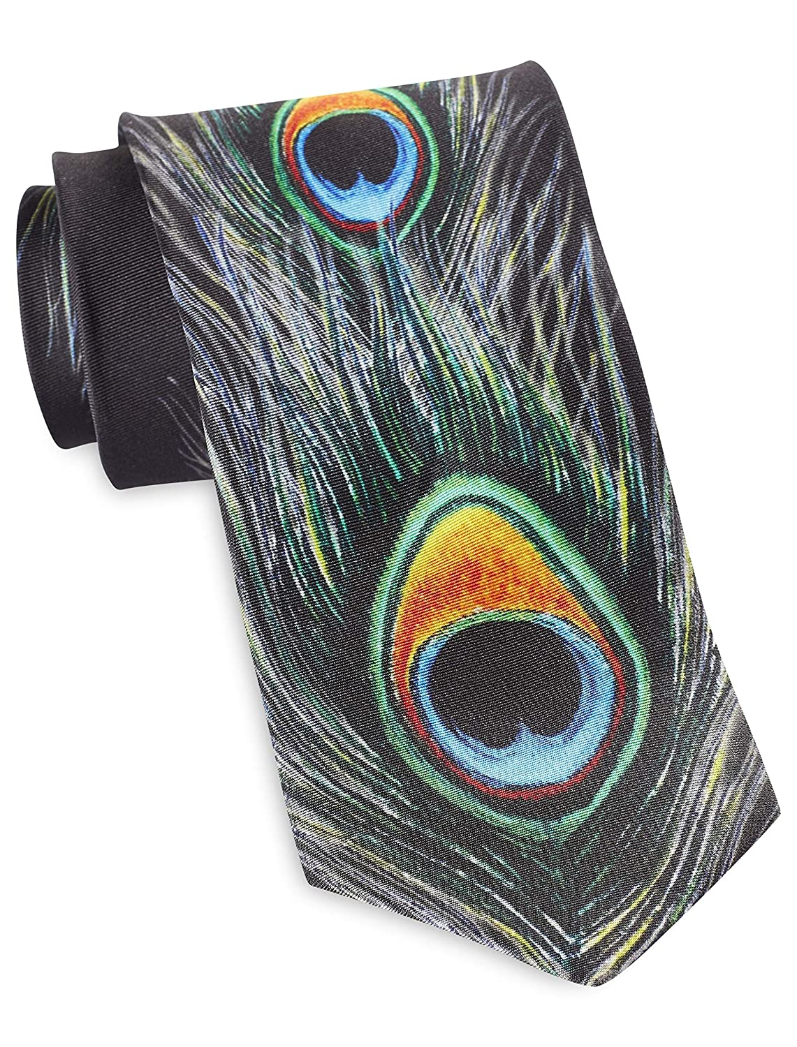 Rochester by DXL Designed in Italy Pinpoint Neat Silk Tie