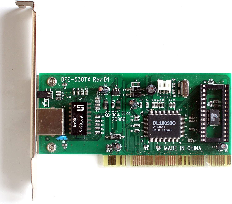 D-link dfe-538tx 10/100mbps fast ethernet pci adapter driver v2. 00.