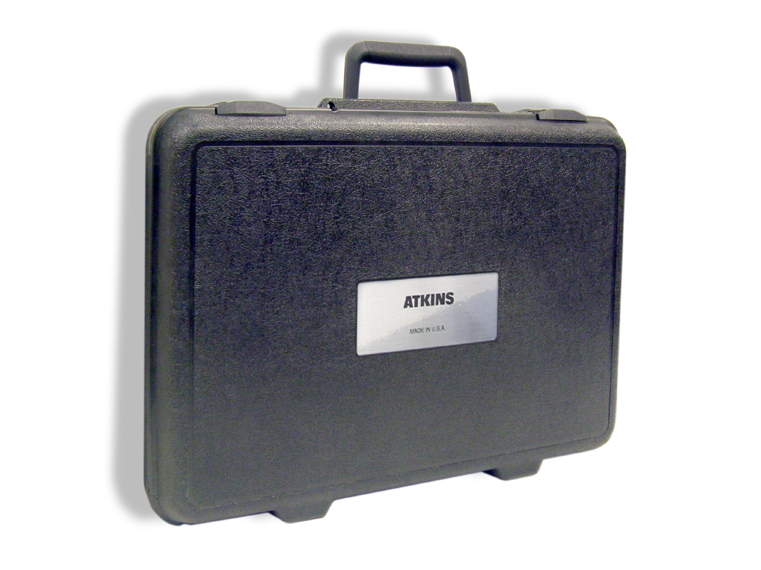 Cooper-Atkins 14245-1 Durable Plastic Hard Carrying Case with label and Handle, Large