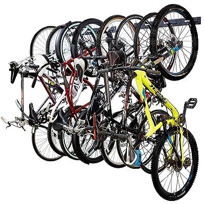 Wall Mount Bicycle Cycling Rack Storage Hanger Garage Bike Steel Hook Stand Hold