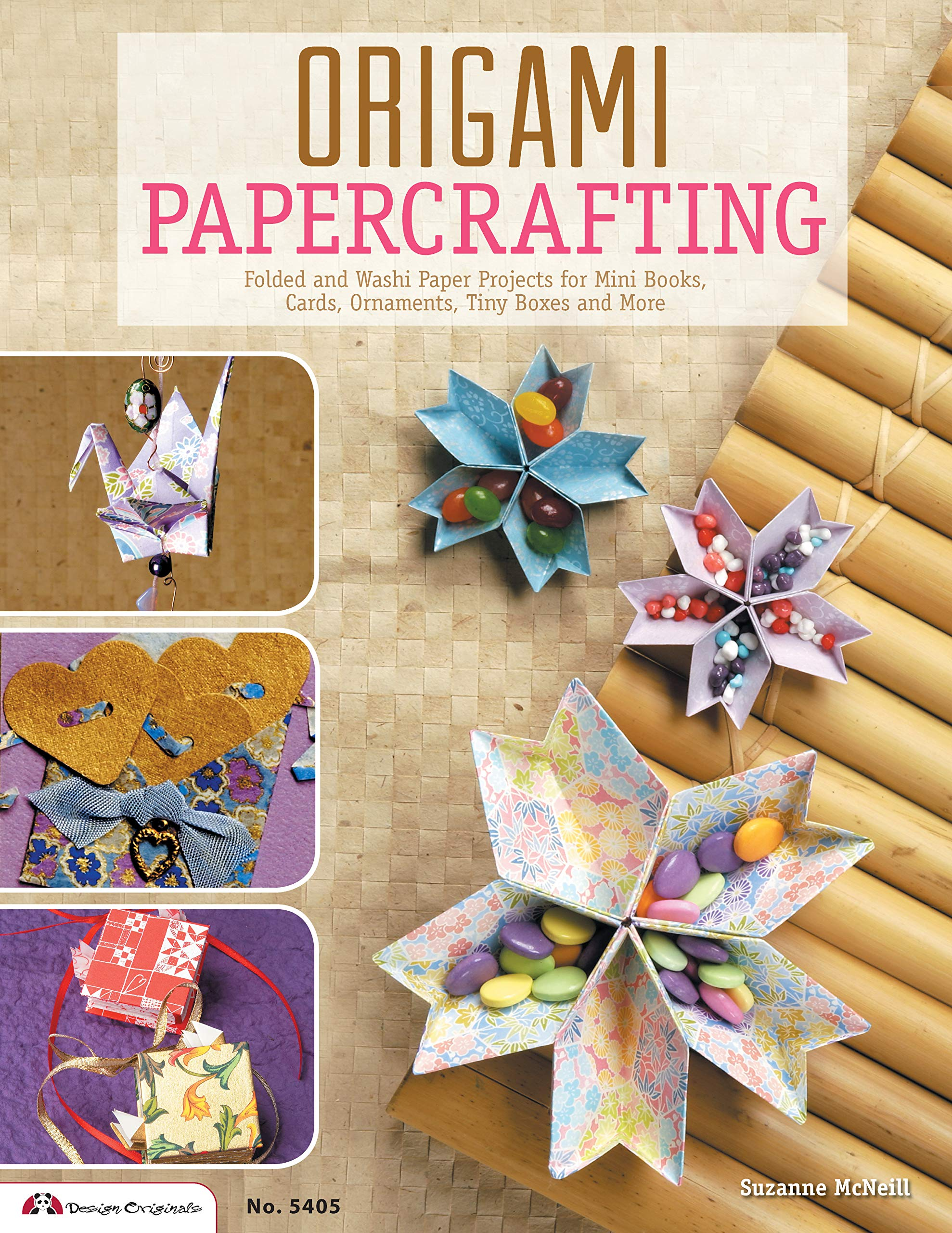 How About Orange: Make origami mini paper books | 2560x1978