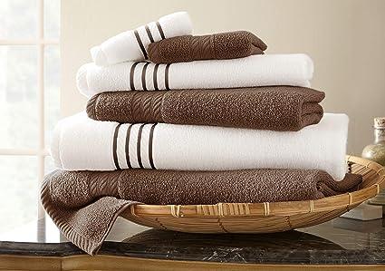Pacific Coast Textiles Amrapur Overseas 6 Piezas de Secado rápido 450 g/m² 100%