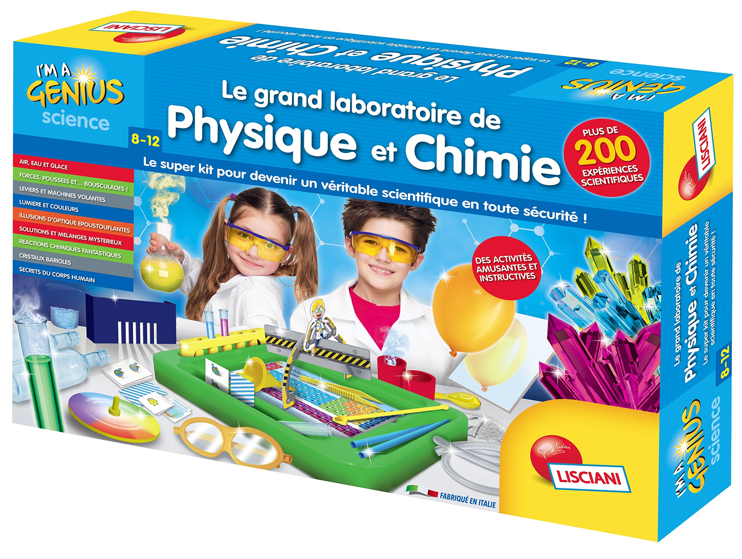 LISCIANI fr59683 - Educational Game - The Great Physics and Chemistry Laboratory