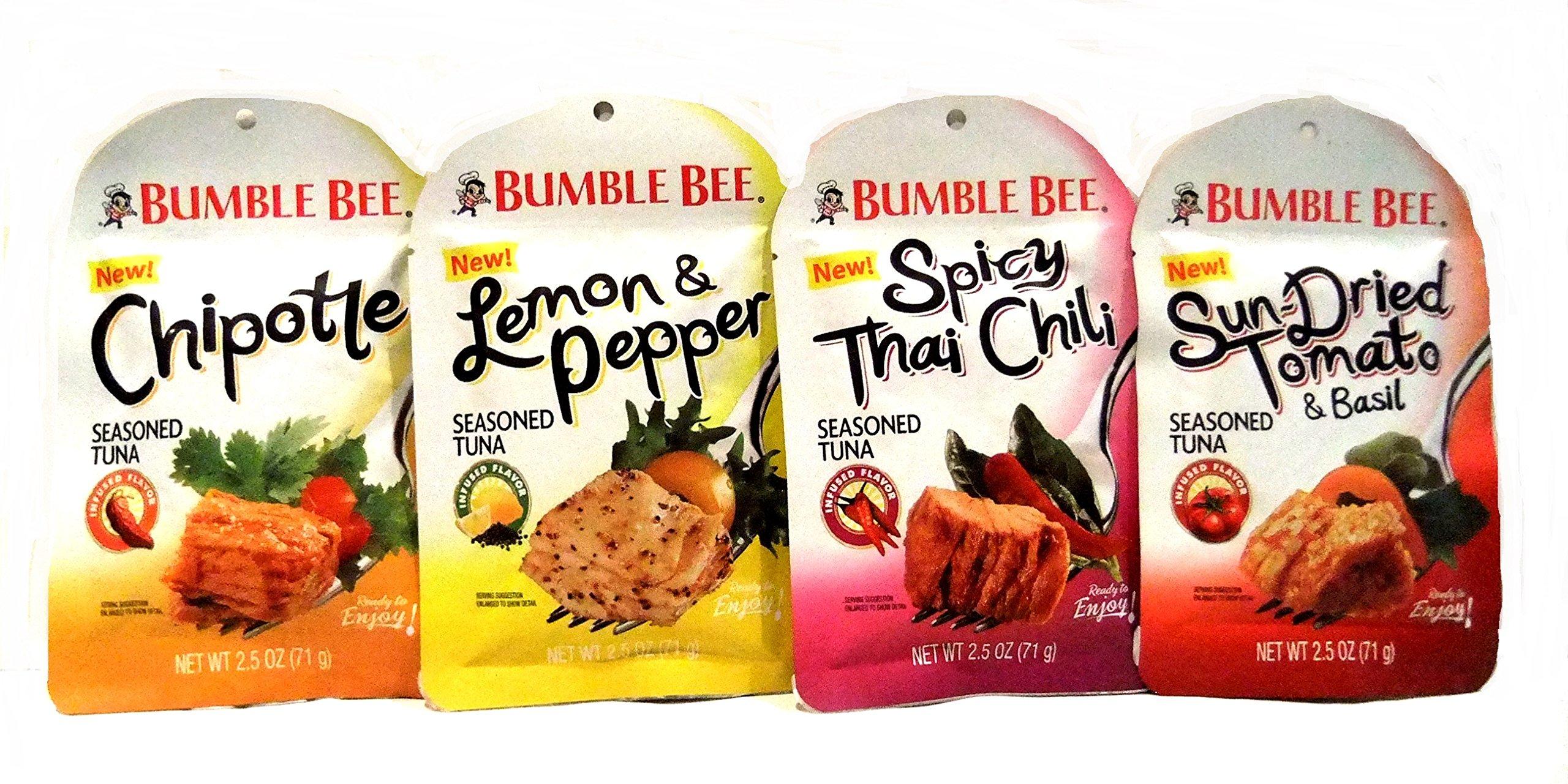 bumble bee new seasoned tuna spicy thai chili jalapeno and lemon
