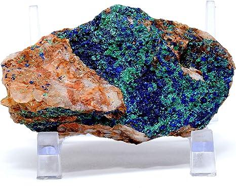 Amazing Light Blue Quartz Crystal Cluster On Tourmaline Crystal 13 Carat