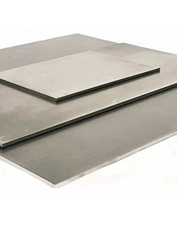 0.020 Buy Metal Online 0.5mm // 24 SWG Great for Outdoor Projects Tough Coating 300mm x 300mm approx 12 x 12 Rust Resistant | DX51D Galvanised Steel Sheet