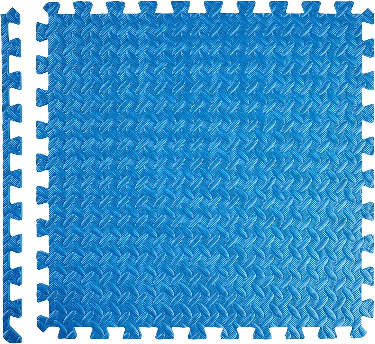 different quantities and colours Non-slip TecTake Protector mat set fitness mat Connecting system for add-ons dirt-resistant