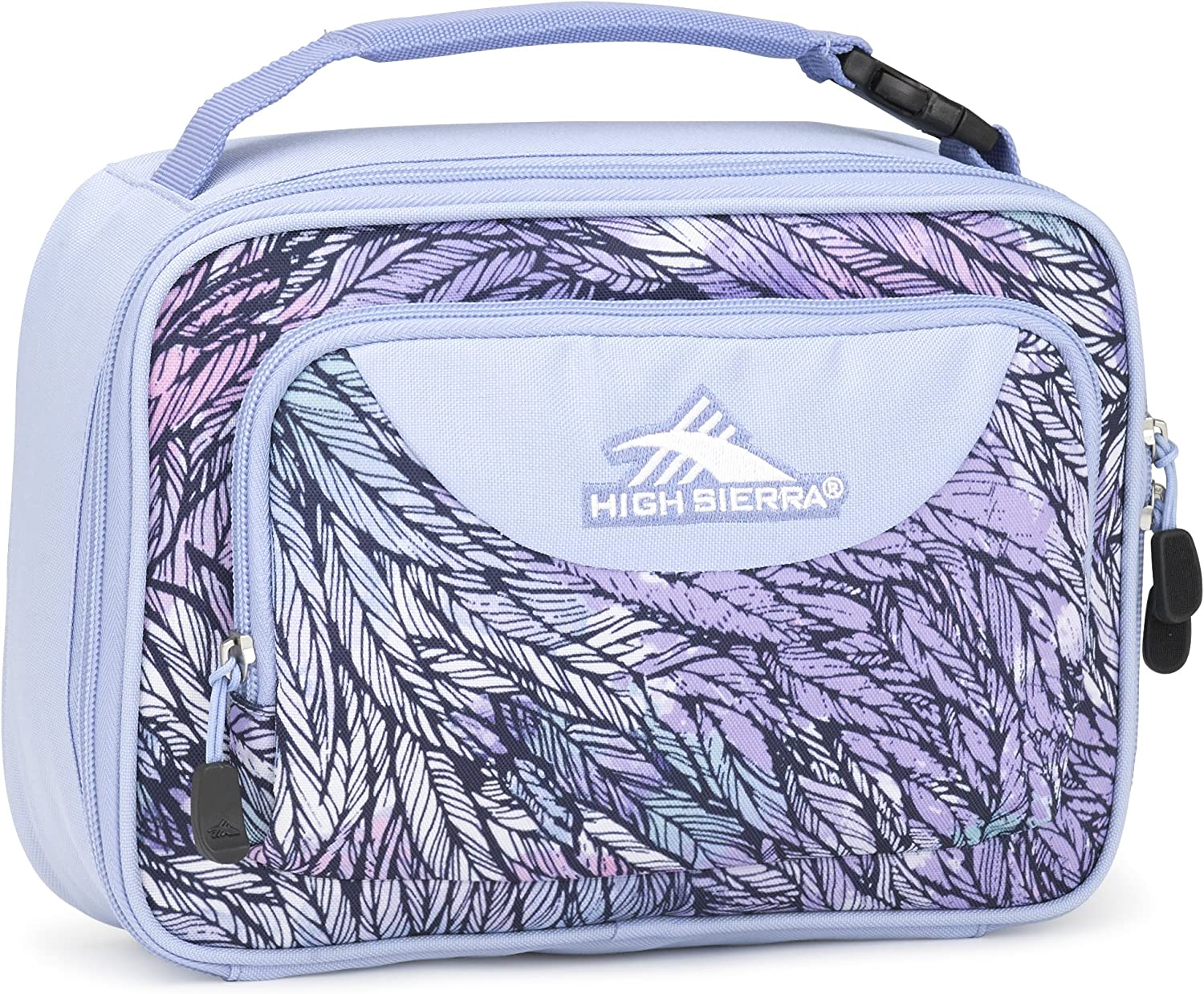 High Sierra Single Compartment Lunch Bag, One Size, Feather Spectre/Powder Blue
