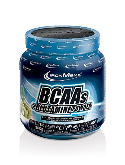 BCAA + Glutamine Powder - 550 gr Kiwi