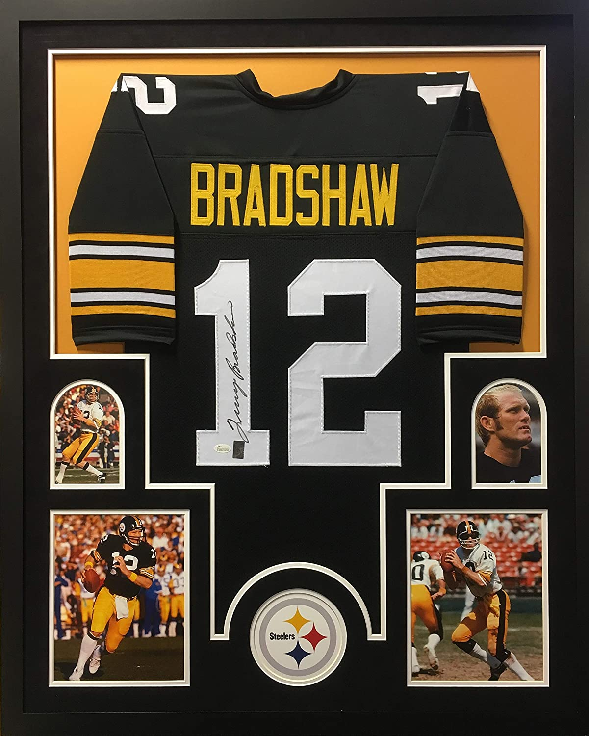 new product 08985 fb3b6 Terry Bradshaw Pittsburgh Steelers Autograph Signed Custom ...