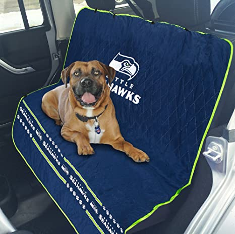 Amazon.com   Pets First NFL CAR SEAT Cover - Seattle Seahawks ... 226bd9006