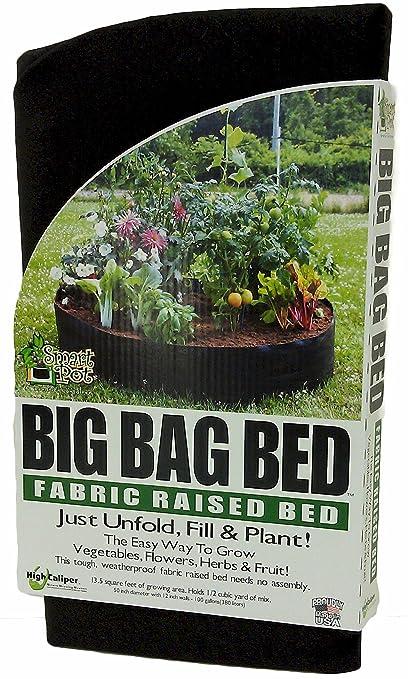 Large Fabric Grow Bag Raised Bed Planter Outdoor Garden Vegetable Tomato Pot UK
