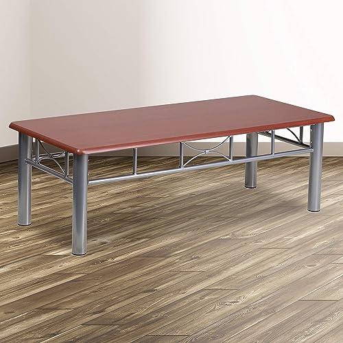 Flash Furniture Mahogany Laminate Coffee Table