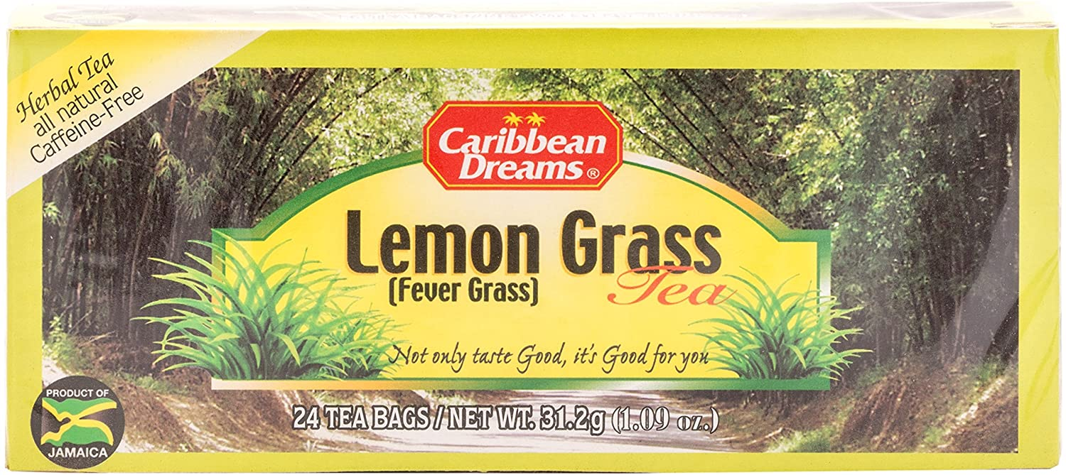 Caribbean Dreams Lemongrass Tea, Fever Grass Tea