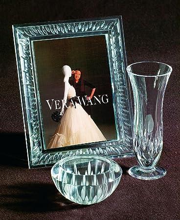 Amazon.com - Vera Wang Wedgwood Duchesse Crystal 5x7 Frame - Single ...