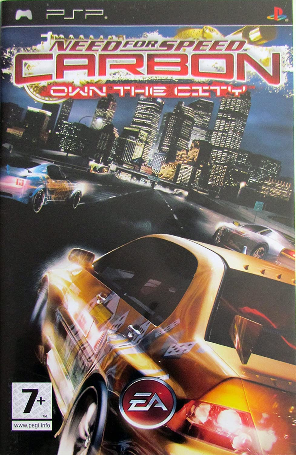 Amazon Com Need For Speed Carbon Own The City Psp Video Games