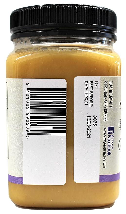 Squeezy Miel de Tomillo Salvaje por by New Zealand Honey Co. | 350g | Miel distintiva, herbaria y aromática de la Isla Sur de Nueva Zelanda | Botella ...