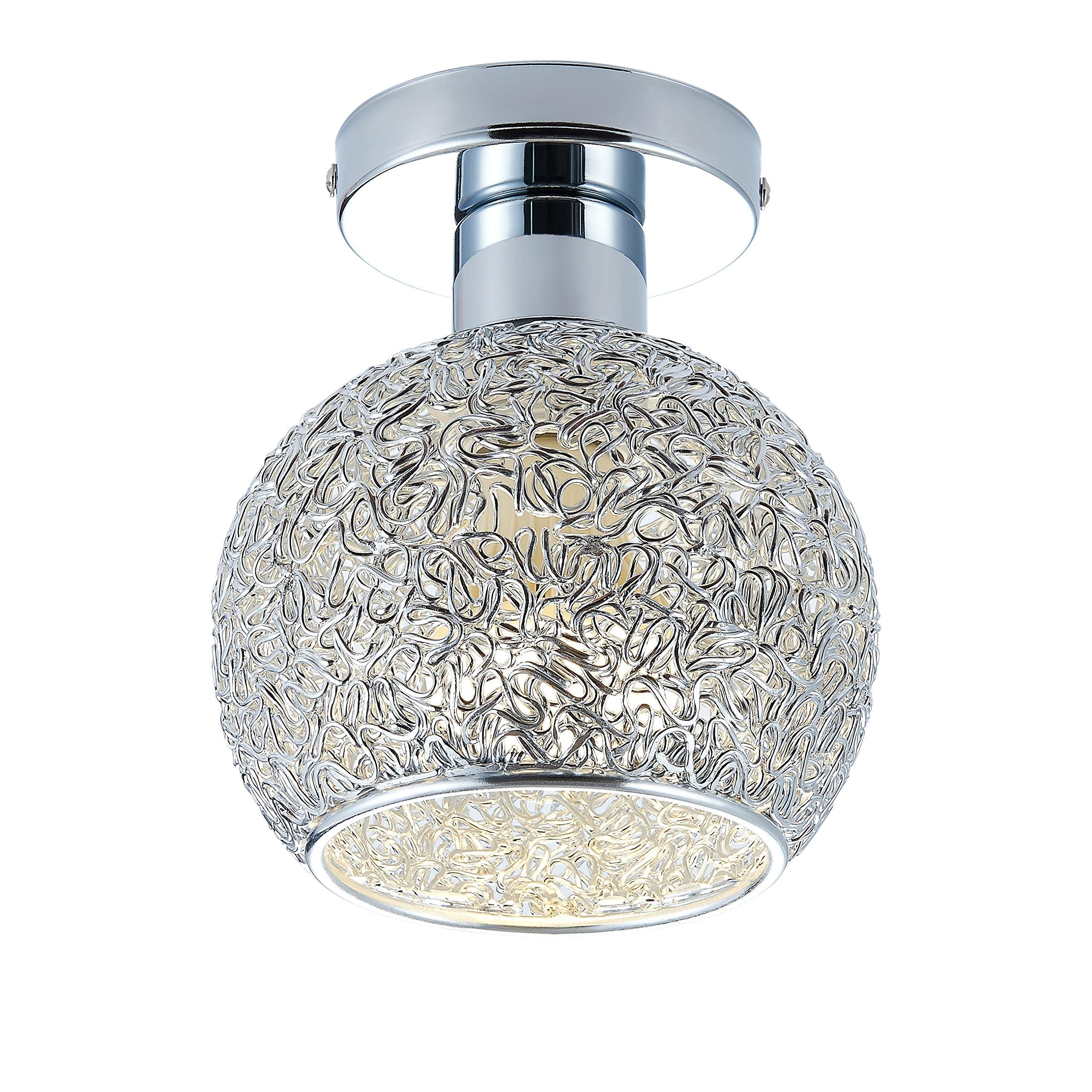 DAXGD lámpara de aluminio de techo Mini plafón para el vestidor, el corredor y el