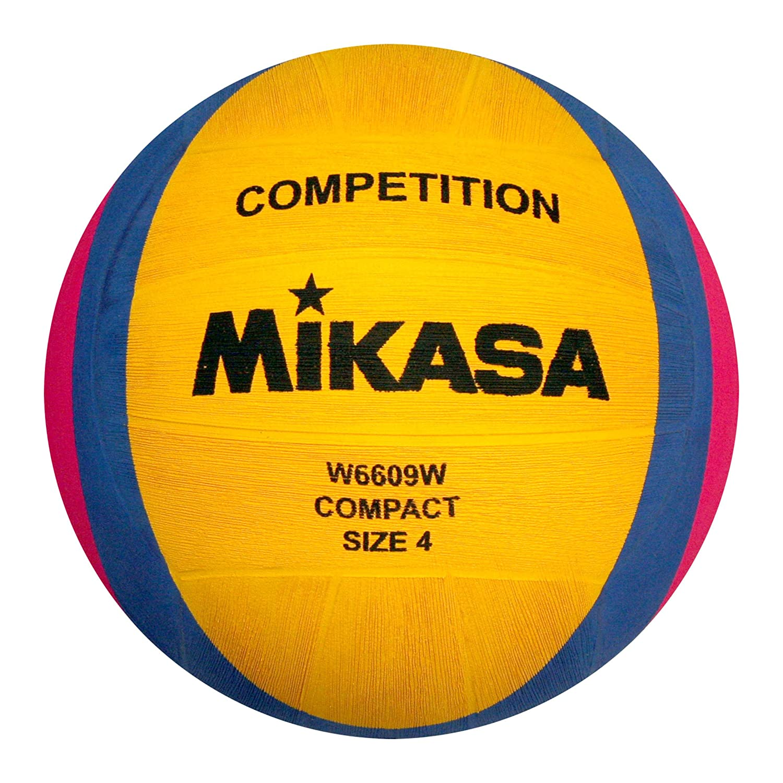 Mikasa, Pallone da pallanuoto W6609w, Giallo (gelb/blau/pink) 1212
