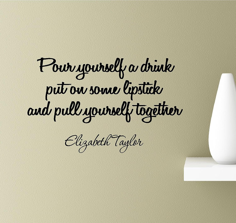 Fashion Art Elizabeth Taylor fashion quote simple art fashion print