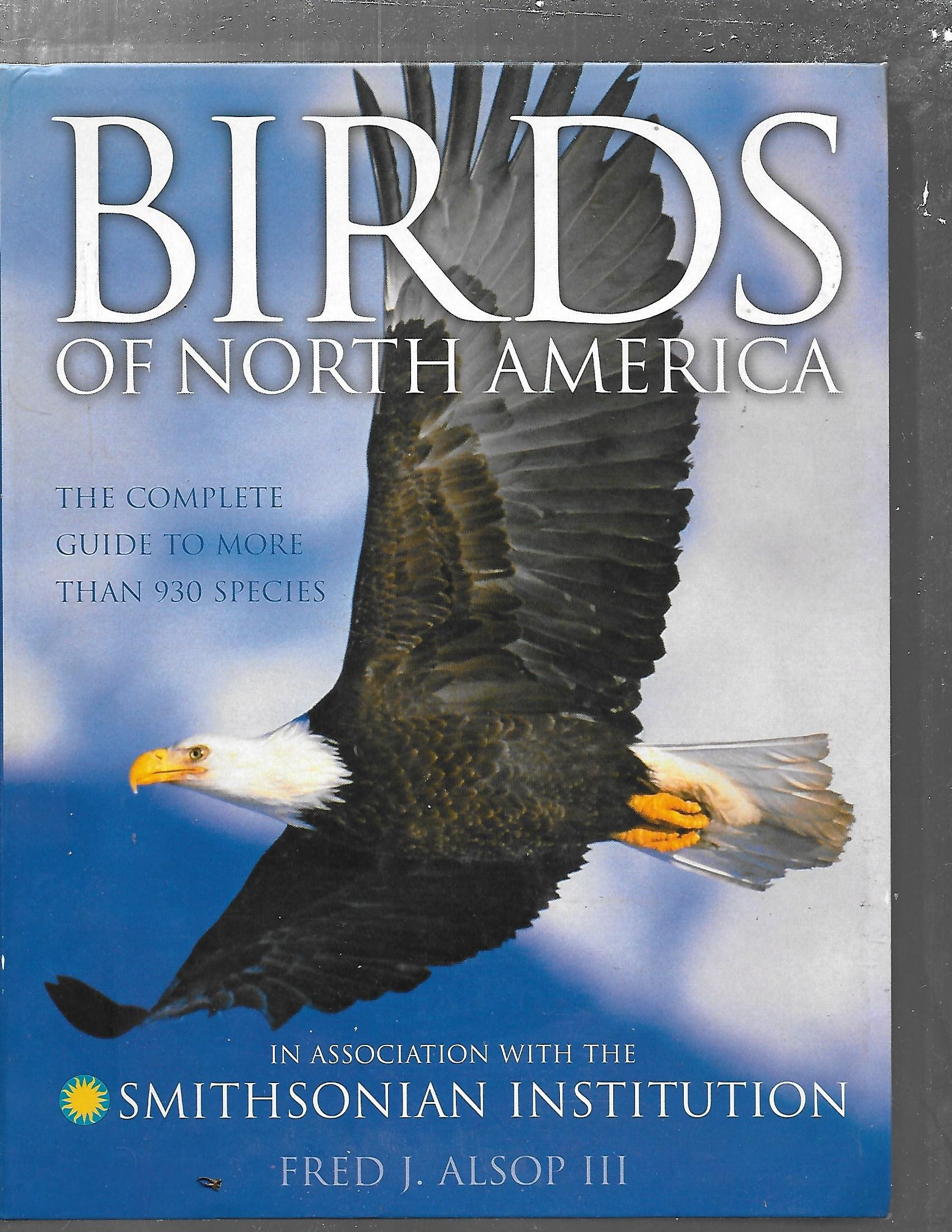Birds Of North America Fred Alsop 9780789493736 Books Eagle Wing Diagram Bald