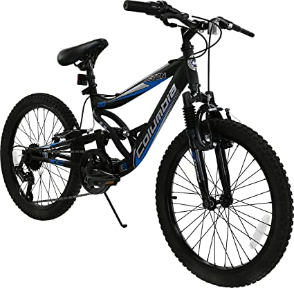Amazon.com : Columbia Teton 20-Inch Boy\'s Full-Suspension Mountain ...