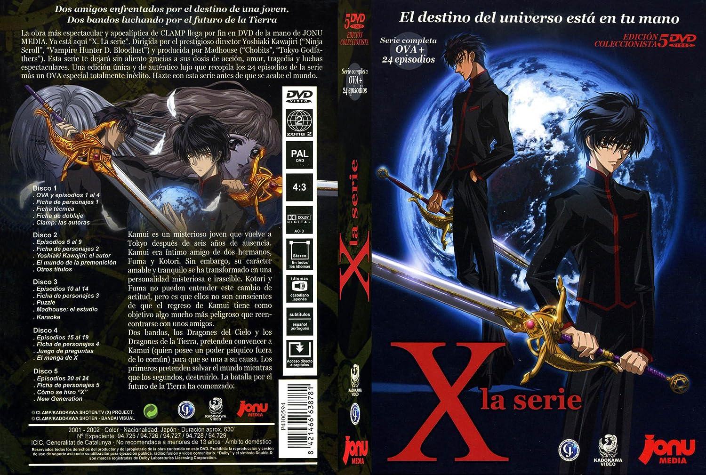 X- la serie compelta [DVD]: Amazon.es: Mokona Apapa ...