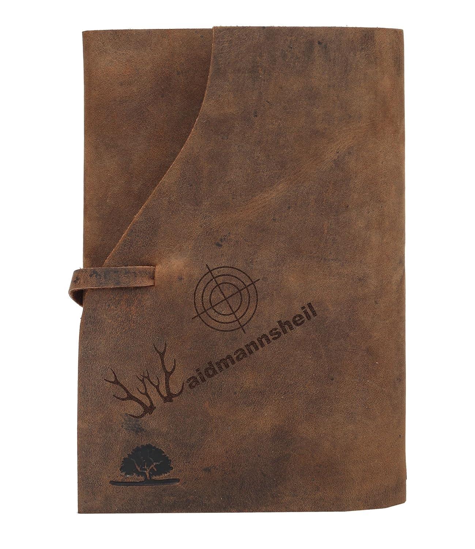 Greenburry Vintage Lederh/ülle Taschen-Organizer Notizbuch