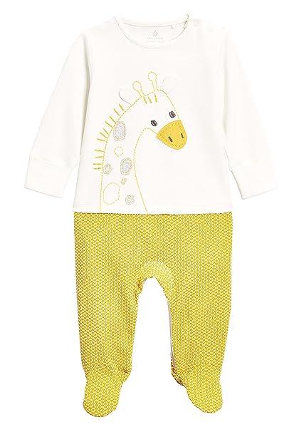 next Bebé-Niñas Pijama Tipo Pelele con Diseño De Jirafa (0 Meses - 2 Años) Crudo 1.5-2 Years: Amazon.es: Ropa y accesorios