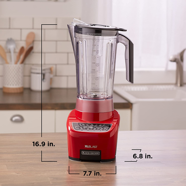 Applica XL Blast Batidora de vaso 2.1L 650W Negro, Rojo ...