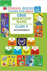 Oswaal CBSE Question Bank Chapterwise & Topicwise Class 11, Accountancy (For 2021 Exam) Kindle Edition