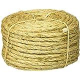 "Lehigh Group 8010LW-P Twisted Sisal Rope, 1/4"" x 100'"