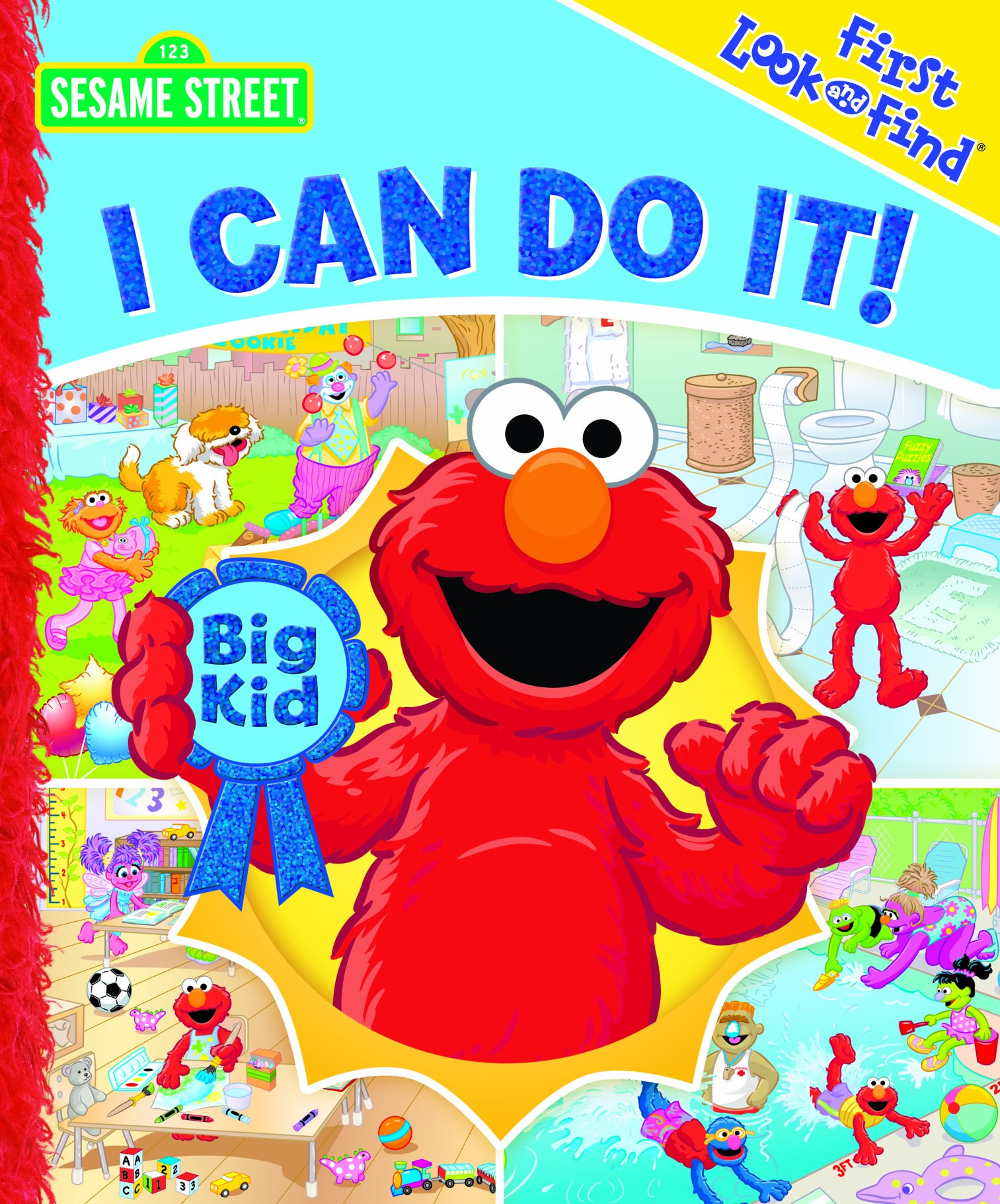 Download First Look and Find: Sesame Street, I Can Do It! PDF