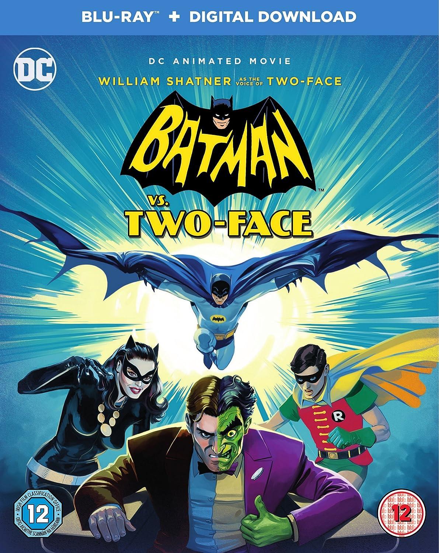 Amazon.com: Batman vs Two-Face Blu-Ray + Digital Download ...
