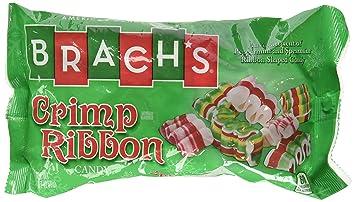 brachs crimp ribbon christmas candy