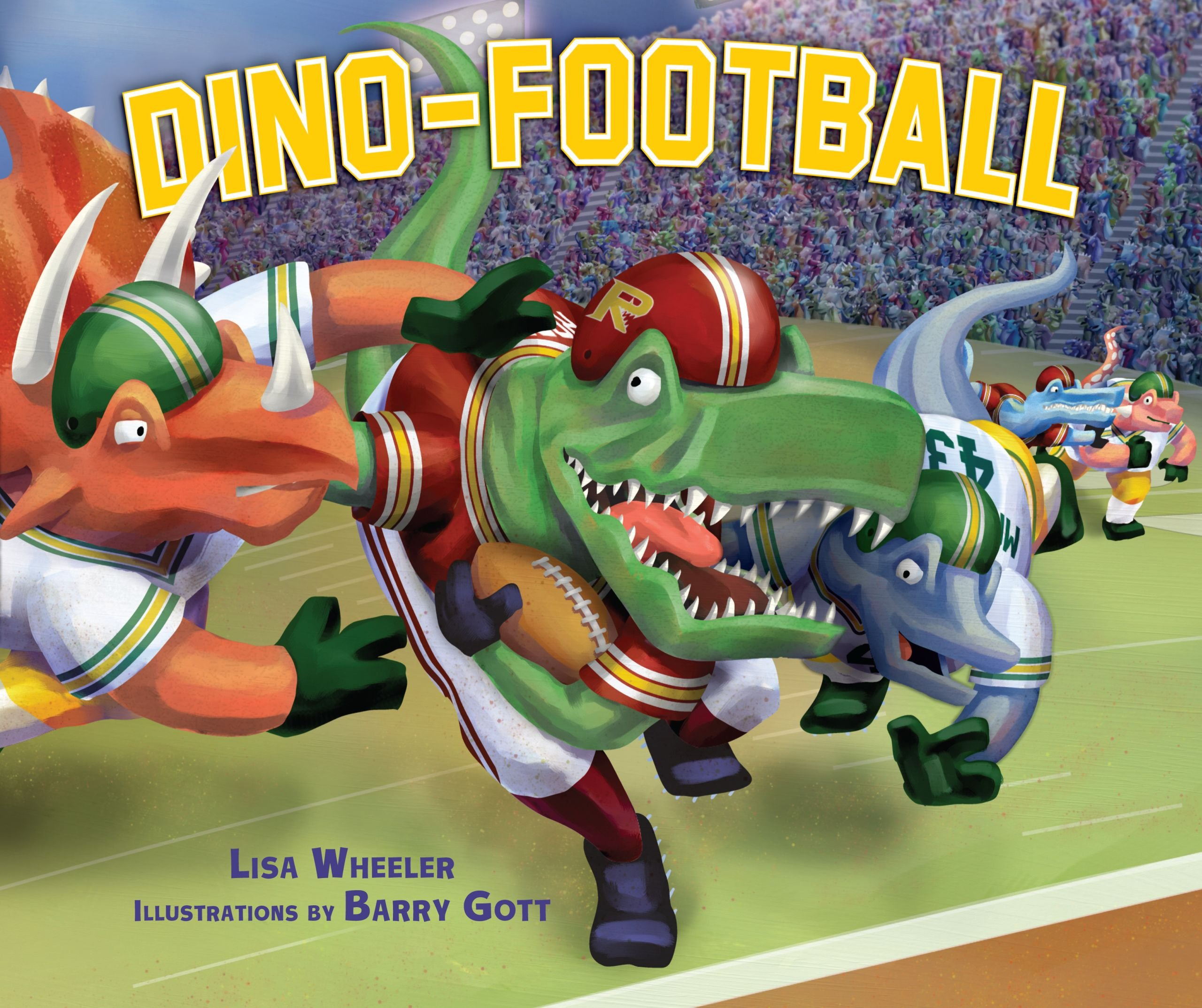 Dino-Football (Carolrhoda Picture Books) (Dino-Sports) by Carolrhoda Books (Image #1)