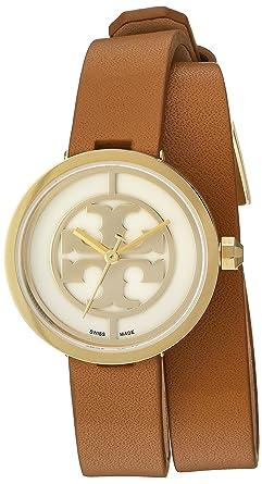 4f9f09a97fc Amazon.com  Tory Burch Reva Double-wrap Watch