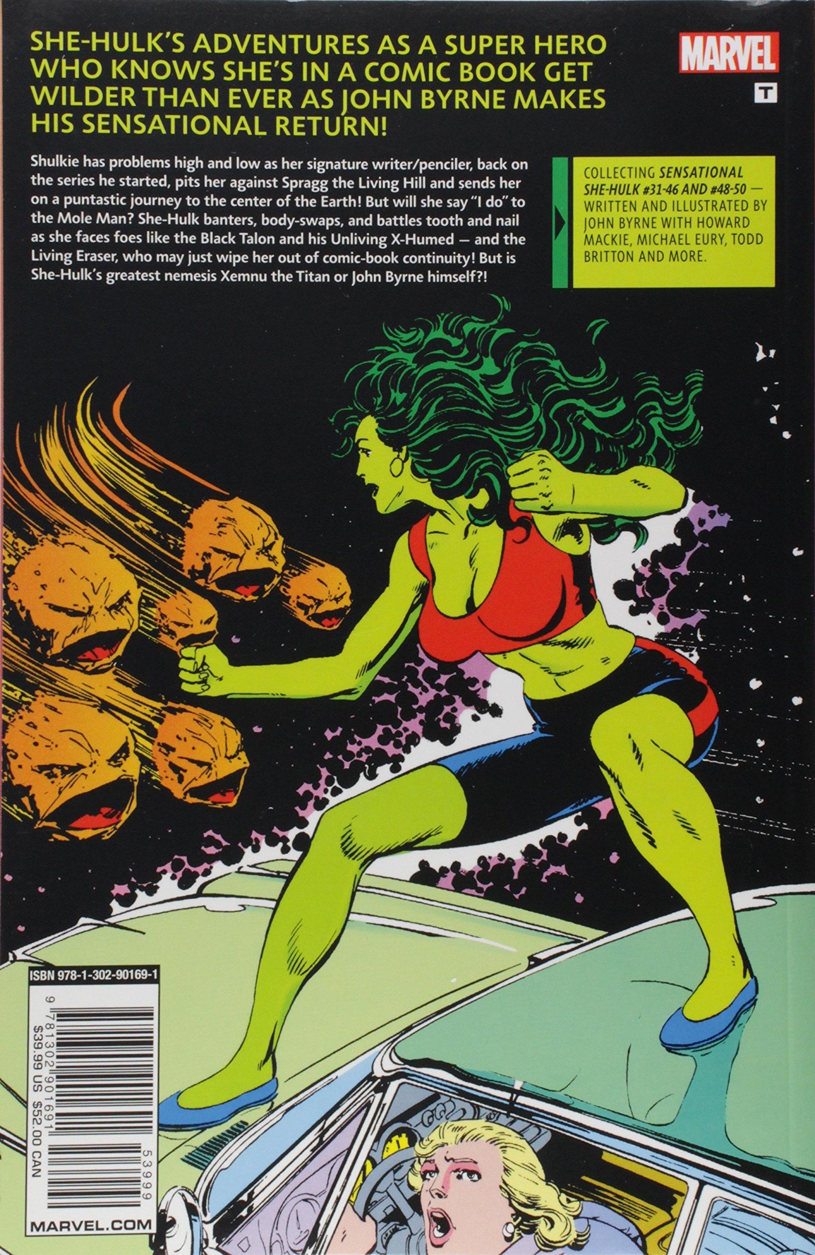Amazon.com: Sensational She-Hulk by John Byrne: The Return (The Sensational She-Hulk) (9781302901691): John Byrne, Howard Mackie, Michael Eury, ...