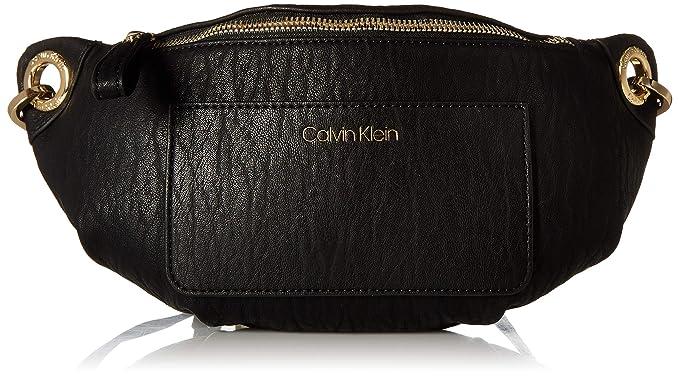 cf28a04b5 Calvin Klein Sonoma Bubble Lamb Novelty Key Item Fanny Pack Belt Bag, black