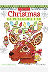 Christmas Coloring Book (Coloring is Fun) (Design Originals) 32 Fun & Playful Holiday Art Activities from Thaneeya McArdle on High-Quality, Extra-Thick Perforated Pages that Resist Bleed-Through Paperback