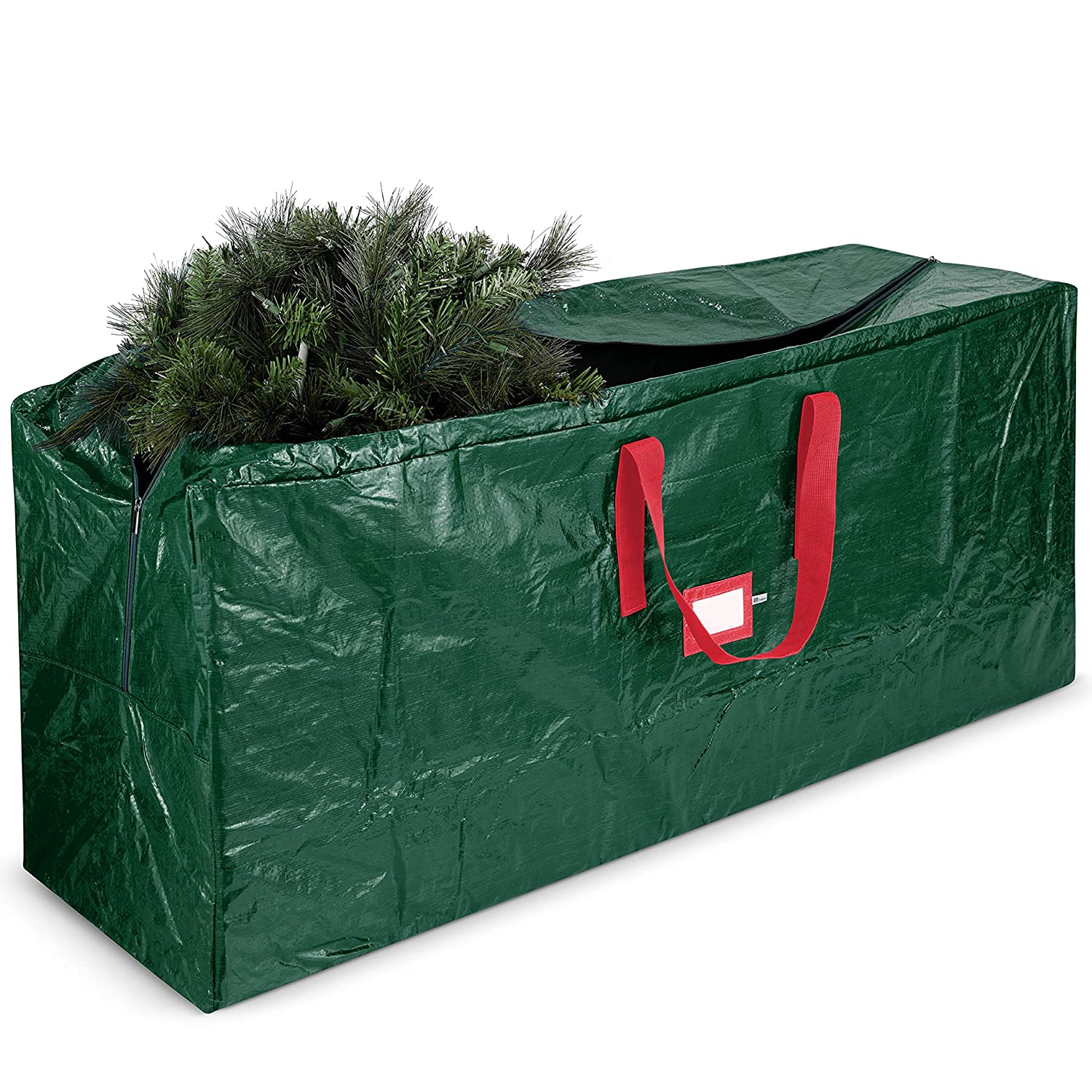 Christmas Tree Bags.Large Christmas Tree Storage Bag Fits Up To 9 Ft Tall Holiday Artificial Disassembled Trees With Durable Reinforced Handles Dual Zipper