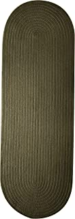 product image for Colonial Mills Bristol Runner Rug, 2x9, Olive