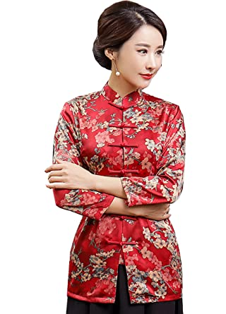 top brands kid customers first Shanghai Story Traditional Red Chinese Tops Cheongsam Top 3 ...