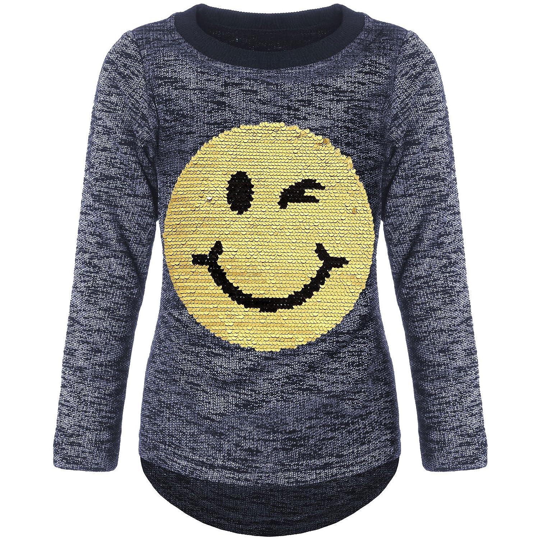 03732a8023e1ee BEZLIT Mädchen Pullover Wende-Pailletten Sweatshirt 21518 - template ...