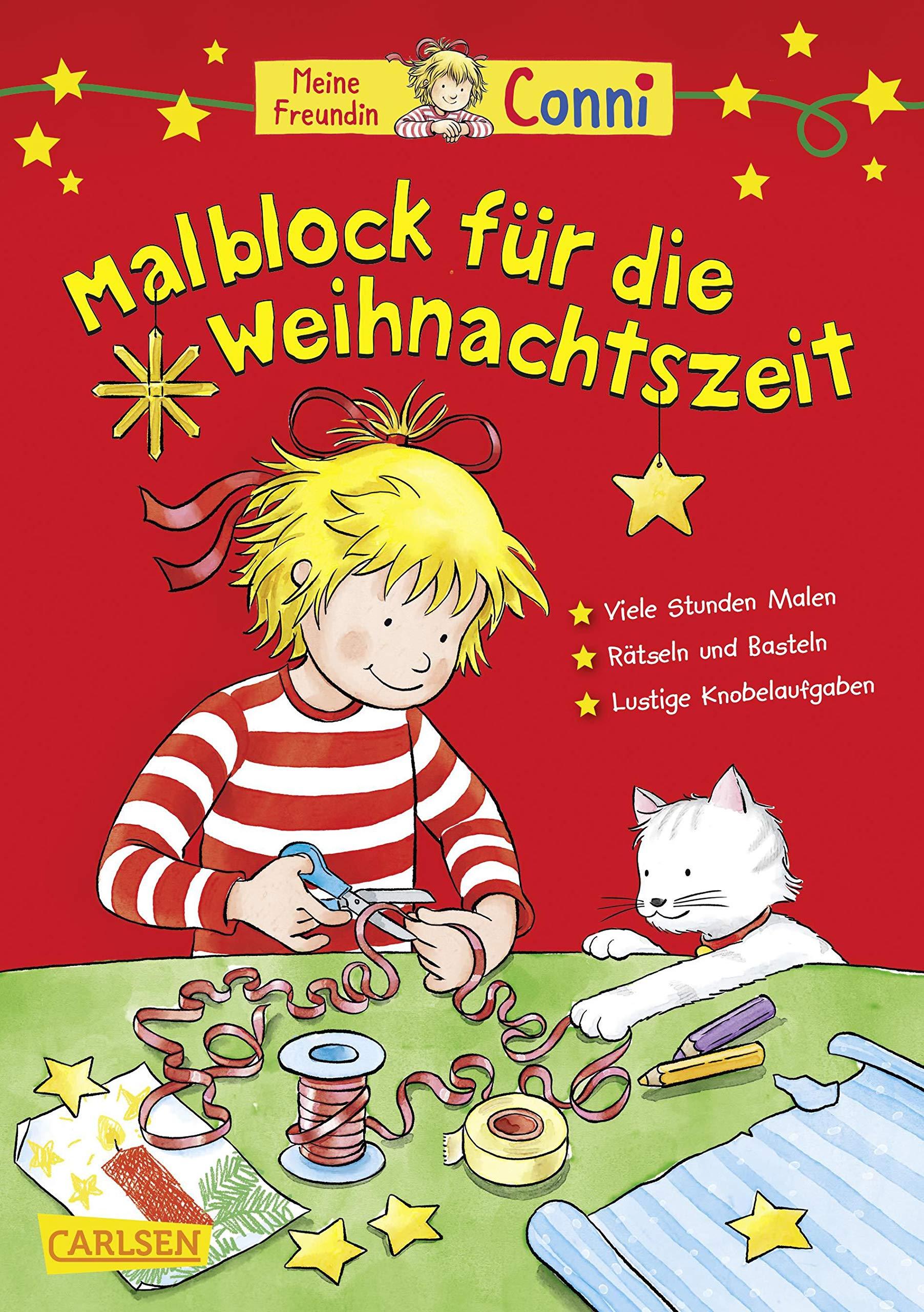 Conni-Malblock für die Weihnachtszeit: Amazon.de: Sörensen, Hanna