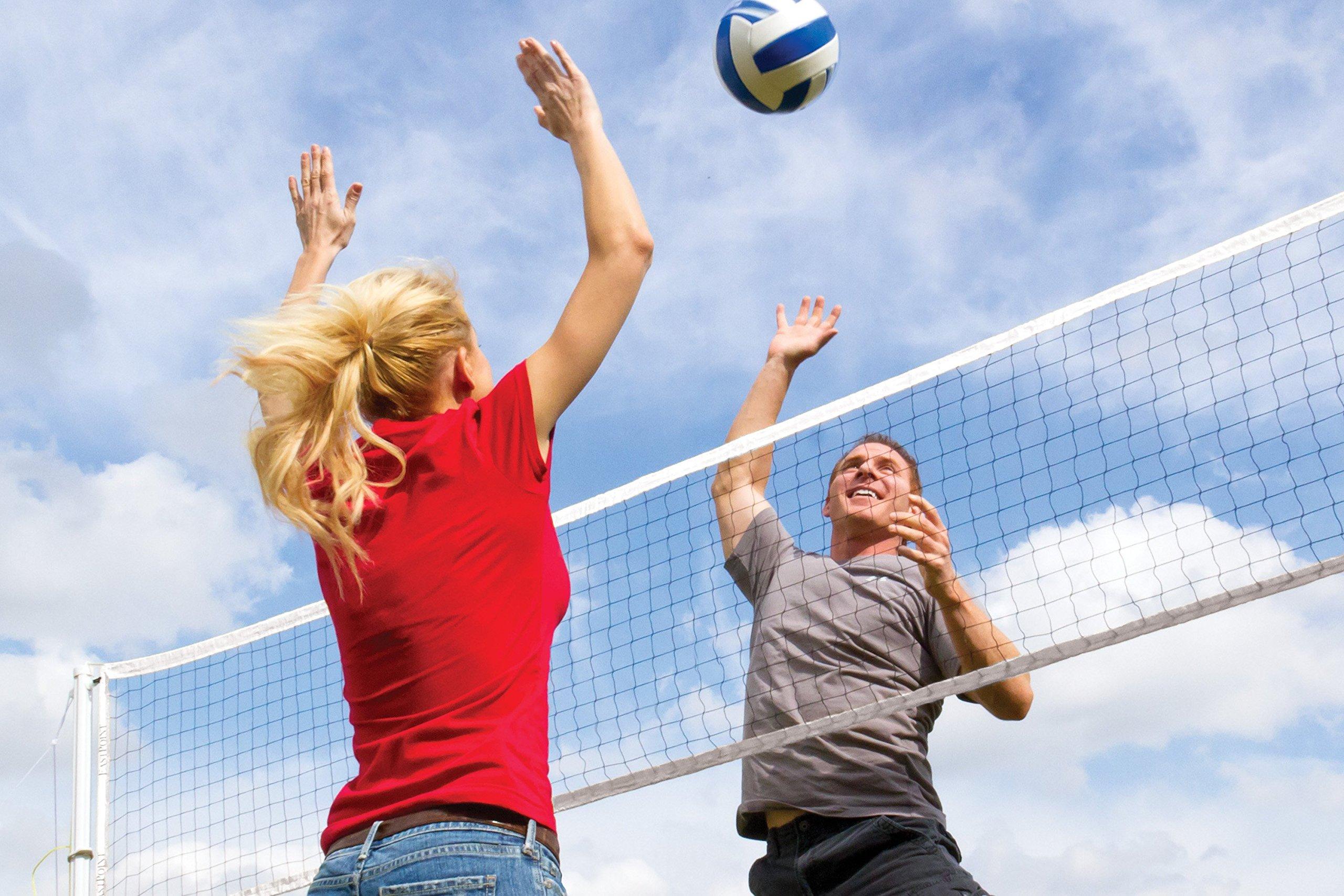 Heavy Duty Outdoor Backyard Sports Beach Volleyball Net