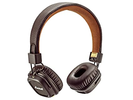 Marshall Major II - Auriculares con diadema (Bluetooth v4.0, Dynamic, conector