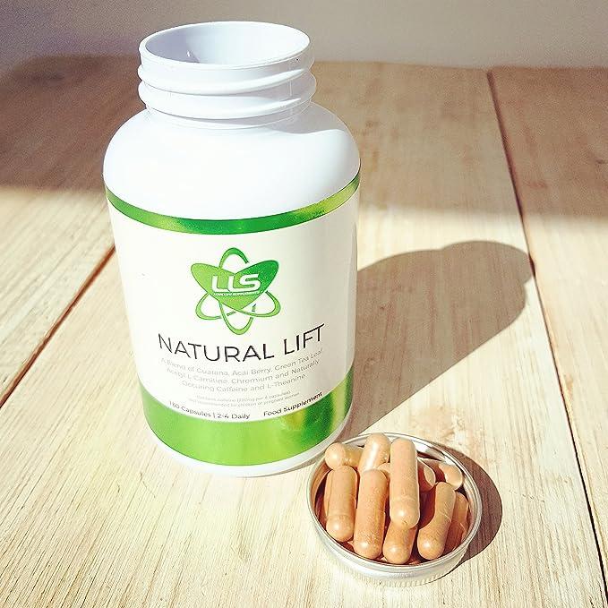 LOVE LIFE NATURAL LIFT (antes Pep Naturale) | 180 x 623mg cápsulas | El impulsa su agudeza mental, rendimiento y energía naturalmente | Nootrópico ...