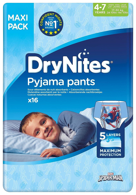 Huggies DryNites Pyjama Pants for Girls, 4 to 7 Years, 64-Count Kimberly-Clark 2152201
